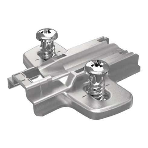 Hettich Montageplatte Sensys STA vern.1,5mm vormont.Euroschrauben