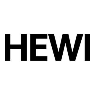 HEWI Profiltür-Drückerlochteil 162XAH51.640 VA XA ov.8mm gekr.HEWI