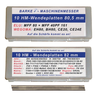 HM Wendemesser L.80,5mm Elu,WEGOMA BARKE