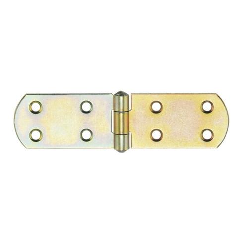Hohage Kistenband H.40mm B.geöffnet 500mm S.2,75mm STA galv.gelb verz.