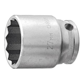 HOLEX 12-kant-Einsatz 1/2 17 mm