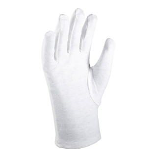 Holex Baumwoll-Handschuh-Set, 12 Paar, Handschuhgröße: 7