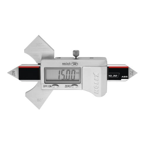 HOLEX Digitale Schweißnahtlehre 30 mm