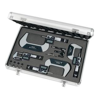 HOLEX Digitaler Bügelmessschrauben-Satz 0-100 mm