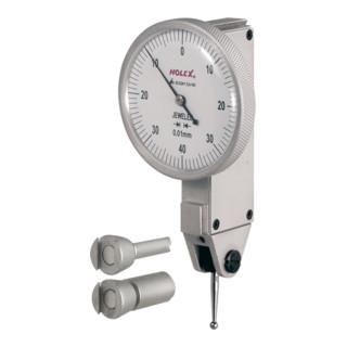 HOLEX Fühlhebelmessgerät Tastarmlänge 13,5 mm 0,4/40 mm