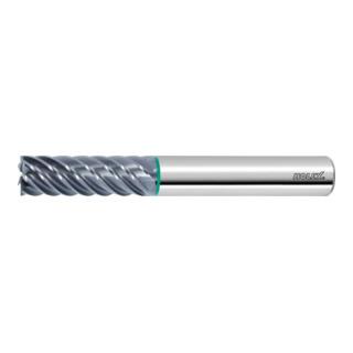 Holex HOLEX Pro Steel VHM-Schlichtfräser HPC, TiAlN,⌀ DC: 8 mm Gesamtlänge 68 mm