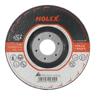 HOLEX Schruppschleifscheibe 2 in 1 Ø 150 mm