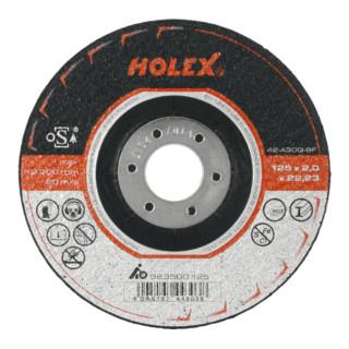HOLEX Trennscheibe 2 in 1 für Stahl