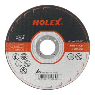 HOLEX Trennscheibe schmal für Stahl