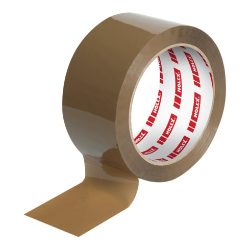 Holex Verpackungsklebeband 6-teilig, Braun, BreitexLänge: 50X66 mmxm