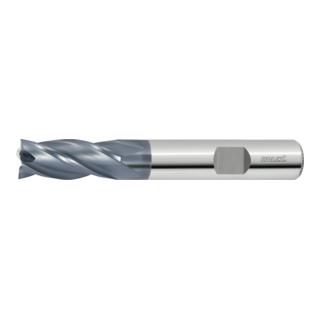 HOLEX VHM-Fräser, exzentrischer Hinterschliff, ohne 45°-Schneideckenfase