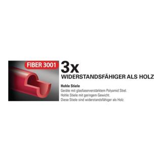 Holländer Schaufel FIBER 3001 Gr.2 290x240mm m.Polyamidstiel POLET