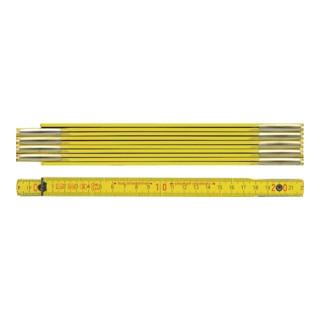BMI Holzgliedermaßstab, gelb