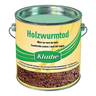 Holzschutzmittel Holzwurmtod farblos 2,5l Dose KLUTHE