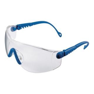 Honeywell Schutzbrille OpTema Bügel blau Fogban-Scheibe klar beschlagfrei EN166