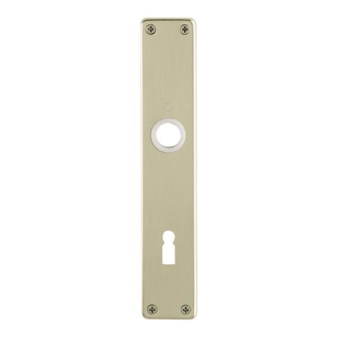 Hoppe Langschild-Paar 202SP F4/bronzef. F4 BB 72mm