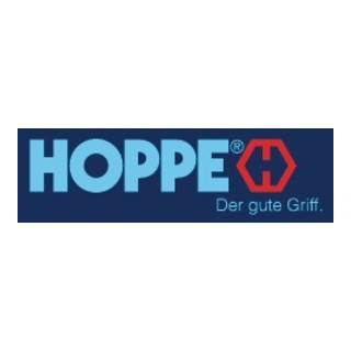 Hoppe Profiltür-Garnitur New York 1810/303N Alu. F1 PZ f. TS 67-72mm