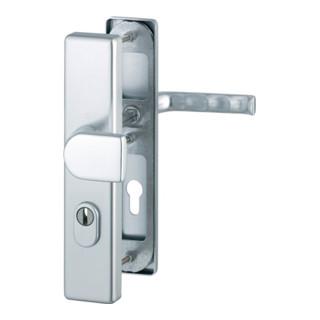 Hoppe Schutz-Wechselgarnitur London 78G/2222ZA/2410/113 ES1 PZ ZA Entf. 72mm VK 8mm