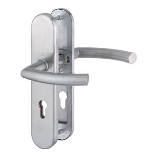 Hoppe Schutzgarnitur Tro.E1430Z/3331/3310 VA F69 72mm 42-47mm