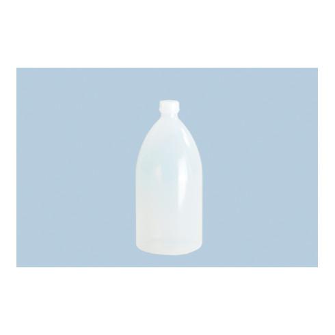 Hünersdorff Enghalsflasche 3.000 ml, LDPE naturfarben, rund