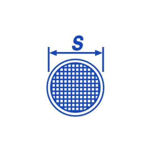 Hünersdorff Kombitrichter 160 mm aus Weißblech mit flexiblem Metallauslauf L = 300 mm
