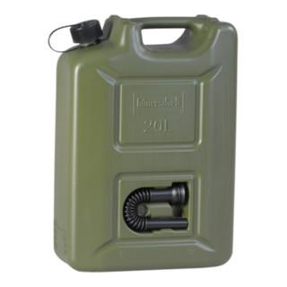 Hünersdorff Kraftstoff-Kanister PROFI (UN) 20 L oliv