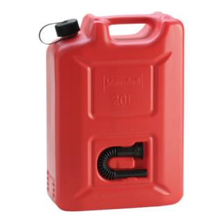 Hünersdorff Kraftstoff-Kanister PROFI (UN) 20 L rot