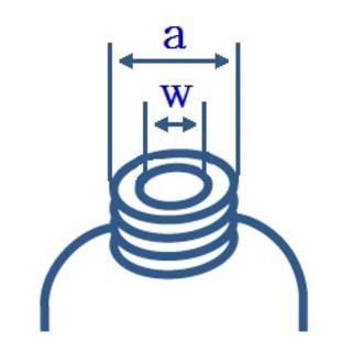 blau komplett 2 St/ück Verschraubung 105 mm f/ür Weithals-Kanister