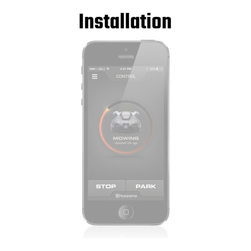 Husqvarna Automower Connect Installation