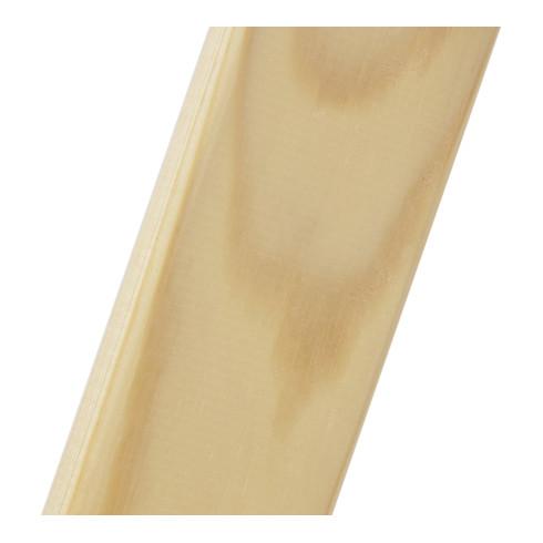 Hymer Holz-Stufenstehleiter beidseitig begehbar