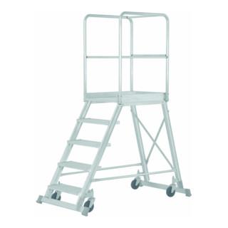 Hymer Podesttreppe fahrbar, einseitig begehbar, 3 Stufen