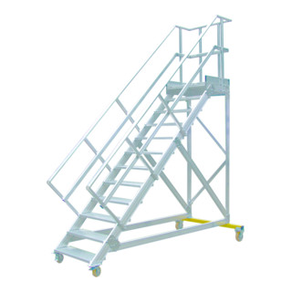 Hymer Podesttreppe fahrbar Treppenneigung 45°
