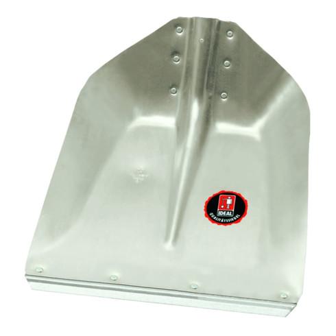 Idealspaten Hallenser Randschaufel Favorit mit Schutzkante ohne Stiel 340 x 325 mm