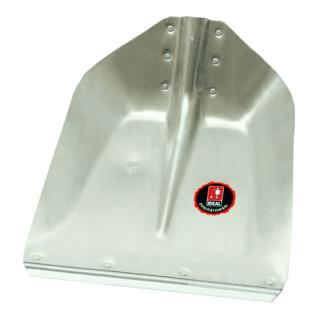 Idealspaten Hallenser Randschaufel Favorit mit Schutzkante ohne Stiel 380 x 380 mm