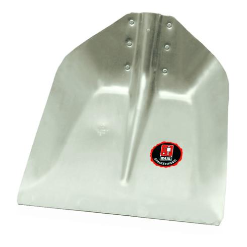 Idealspaten Hallenser Randschaufel ohne Schutzkante ohne Stiel 380 x 380 mm