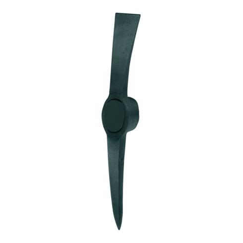 Idealspaten Kreuzhacke Stahl schwarz lackiert 2,5 kg ohne Stiel