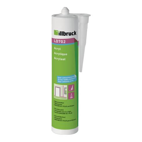 Illbruck Acryl LD702 310 ml weiß Kartusche