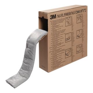 Industriebindevlies MF 2001 grau bindet b.max.119l/VE 15,2mx12cm 3 Packs Krt.3M