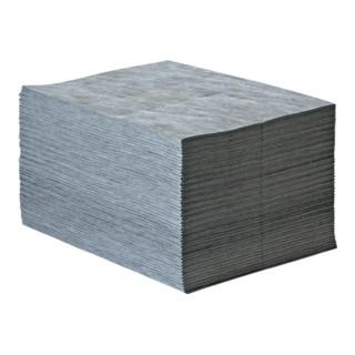 Industriebindevlies Univ.grau bindet b.max.84l/VE 40cm x 50cm 100 Tü.Krt.RAW