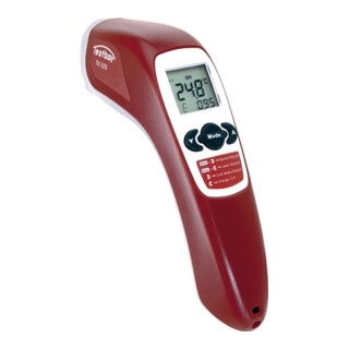 Infrarotthermometer -60-+500 Grad min/max Anzeige Data Hold Funkt Testboy TV 325
