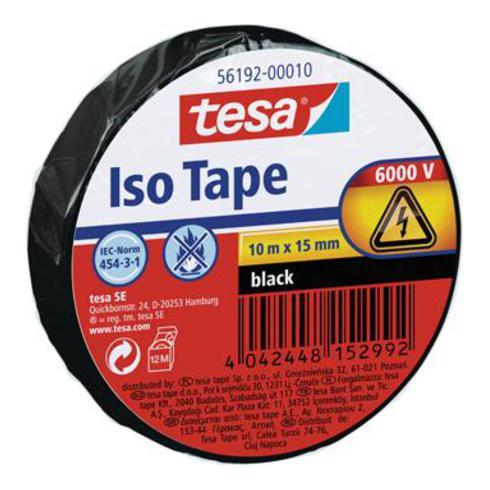 Isolierband schwarz 10m x 15mm