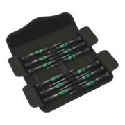 Jeux de tournevis électroniques WERA «Kraftform-Micro» 12