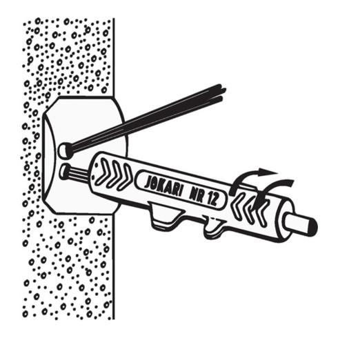 Jokari Entmantler Nr. 12, Länge 125mm, Durchmesser 8-13mm