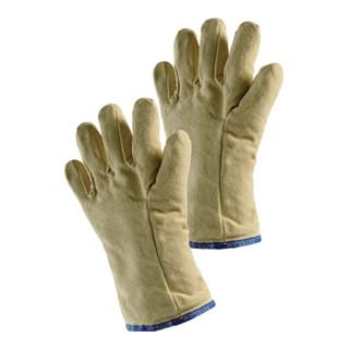 Jutec Hitzehandschuhe, L.30cm / max.500° (kurzfristig) / Aramid 5-Finger Jutec mit Isolation