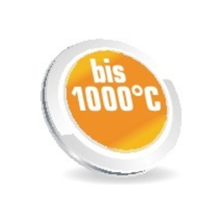 Jutec  Hitzehandschuhe, L.38cm, Aramid/Preox-Aramid-Alu 5 Finger / Kat.III max.1000°