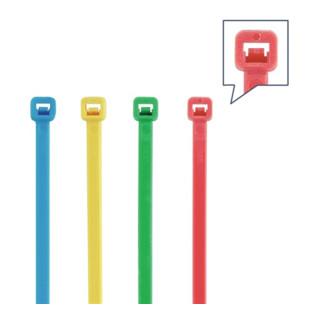 Kabelbinderset 400-tlg.PA mehrfarbig