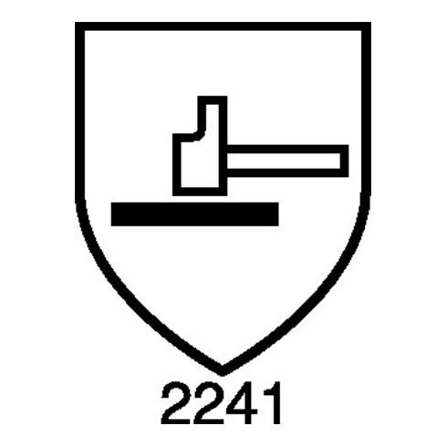 Kälteschutzhandschuh Gr.XL schwarz/grau PES/CO EN 388,EN 511 Kat.II