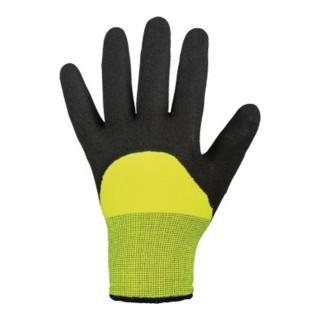 Kälteschutzhandschuh Mallory/Black Gr.8 schwarz/gelb EN 388,EN 511 Kat.II