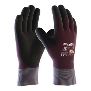 Kaelteschutzhandschuh MaxiDry Zero 56-451 Gr.10 lila/schwarz EN 388,EN 511 Kat.II