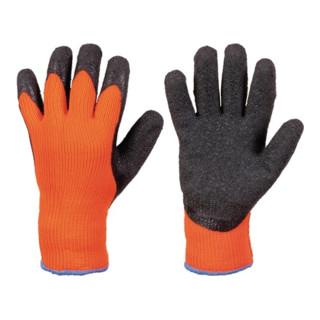 Kälteschutzhandschuh Rasmussen Gr.10 orange/schwarz 100 %PC EN 388,EN 511 Kat.II